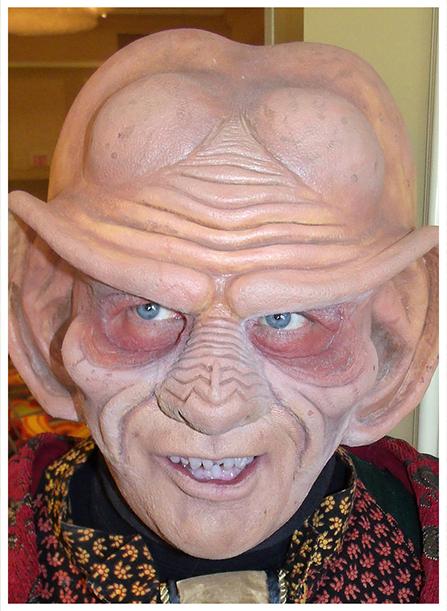 Dale Morton Custom Prosthetic Makeup
