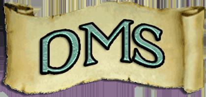 Dale Morton Studio DMS Banner Logo