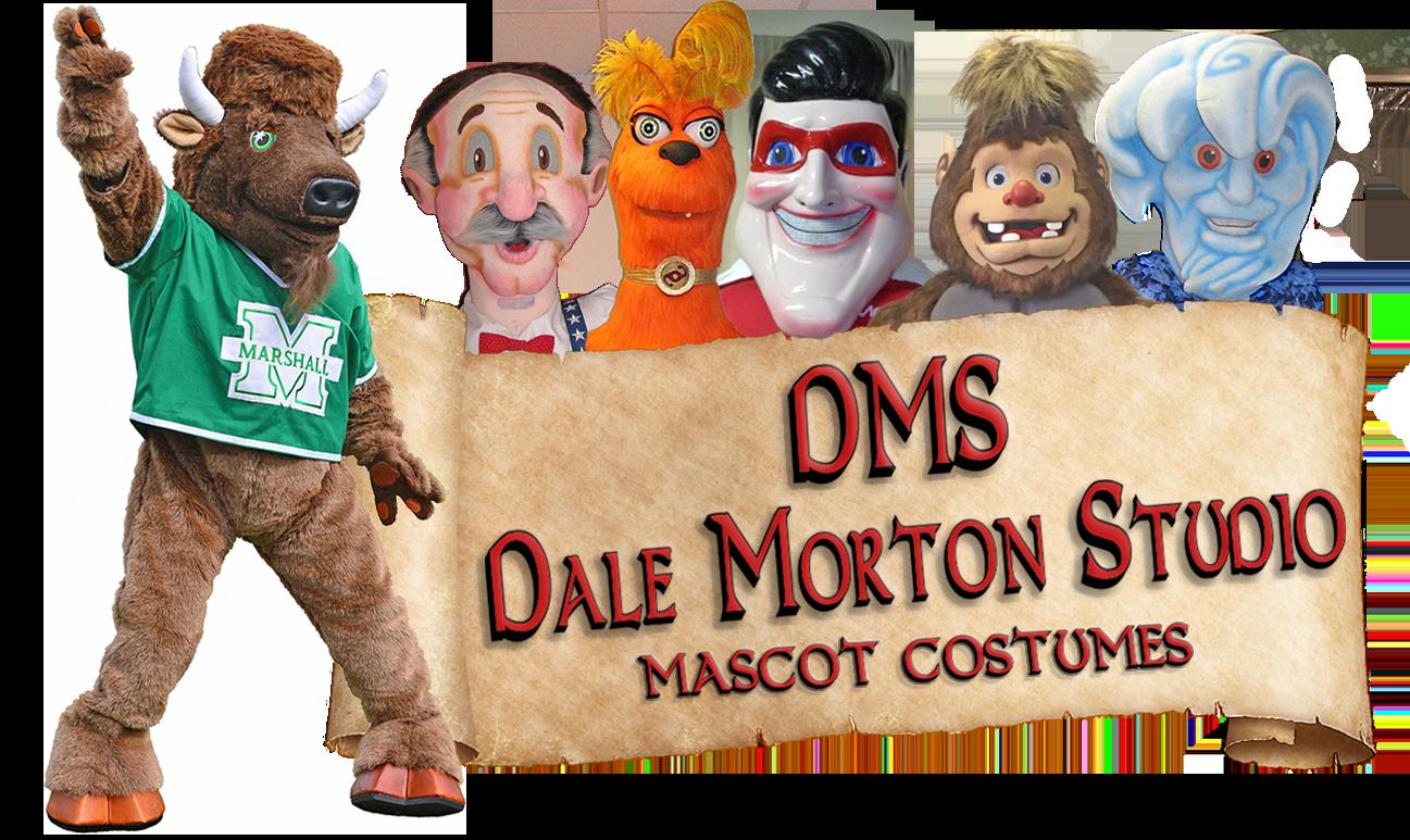 Dale Morton Studio Mascot Costumes Logo