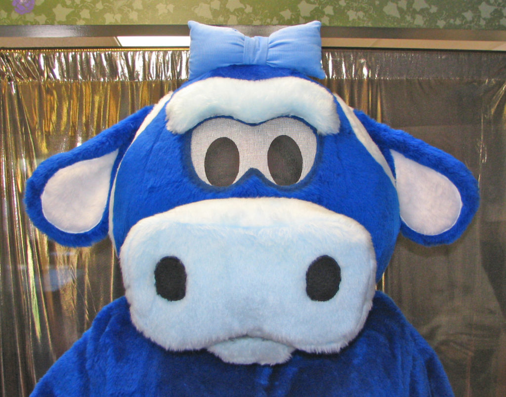 Berry Blue Cow 2