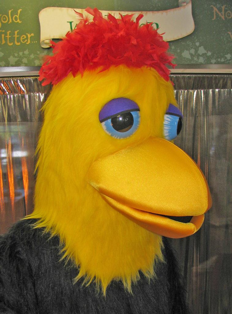 Buddy Bird head