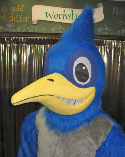 Chappy the Road Runner head