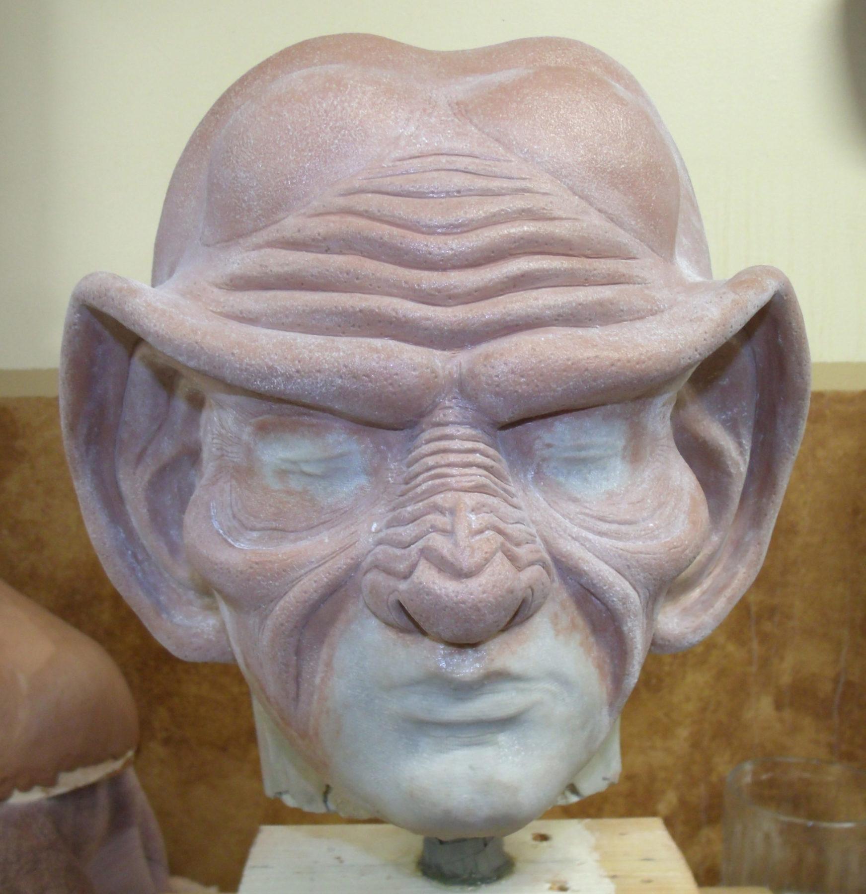 Ferengi sculpture