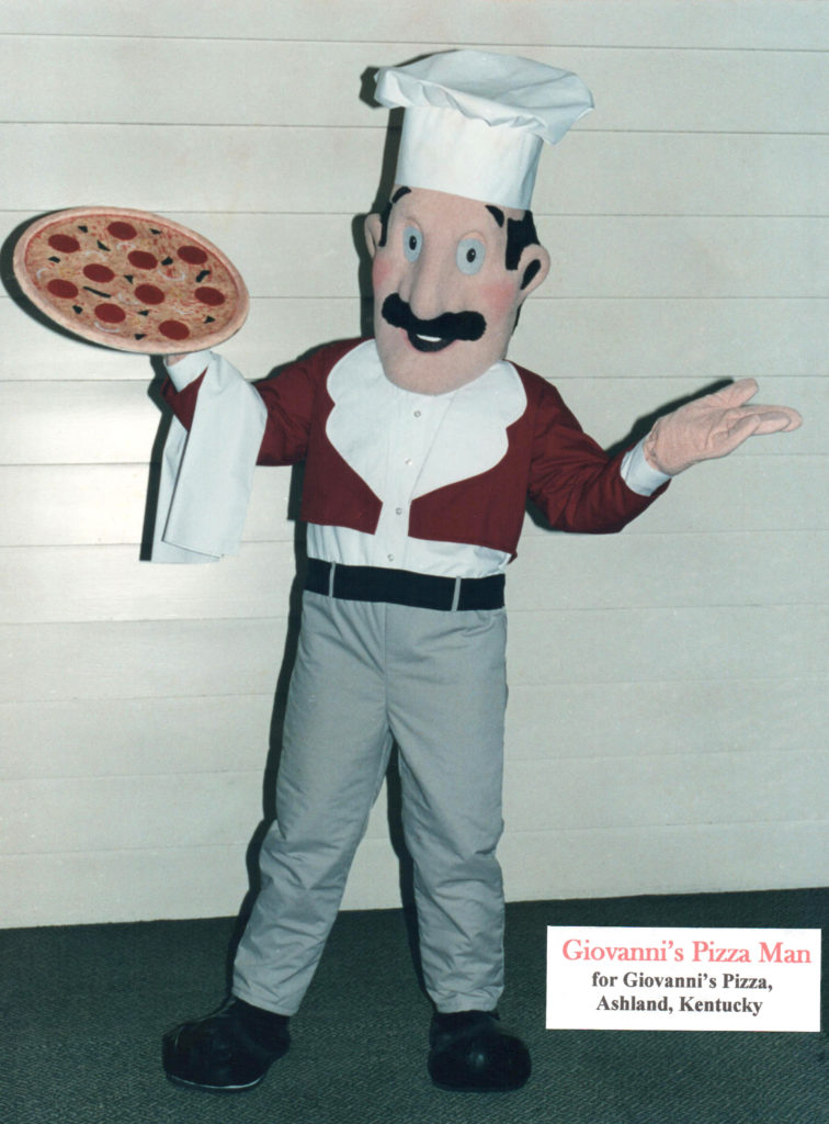 Giovanni's Pizza Man
