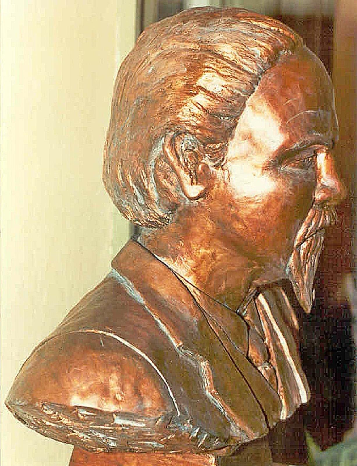William MacCorkle bust 2