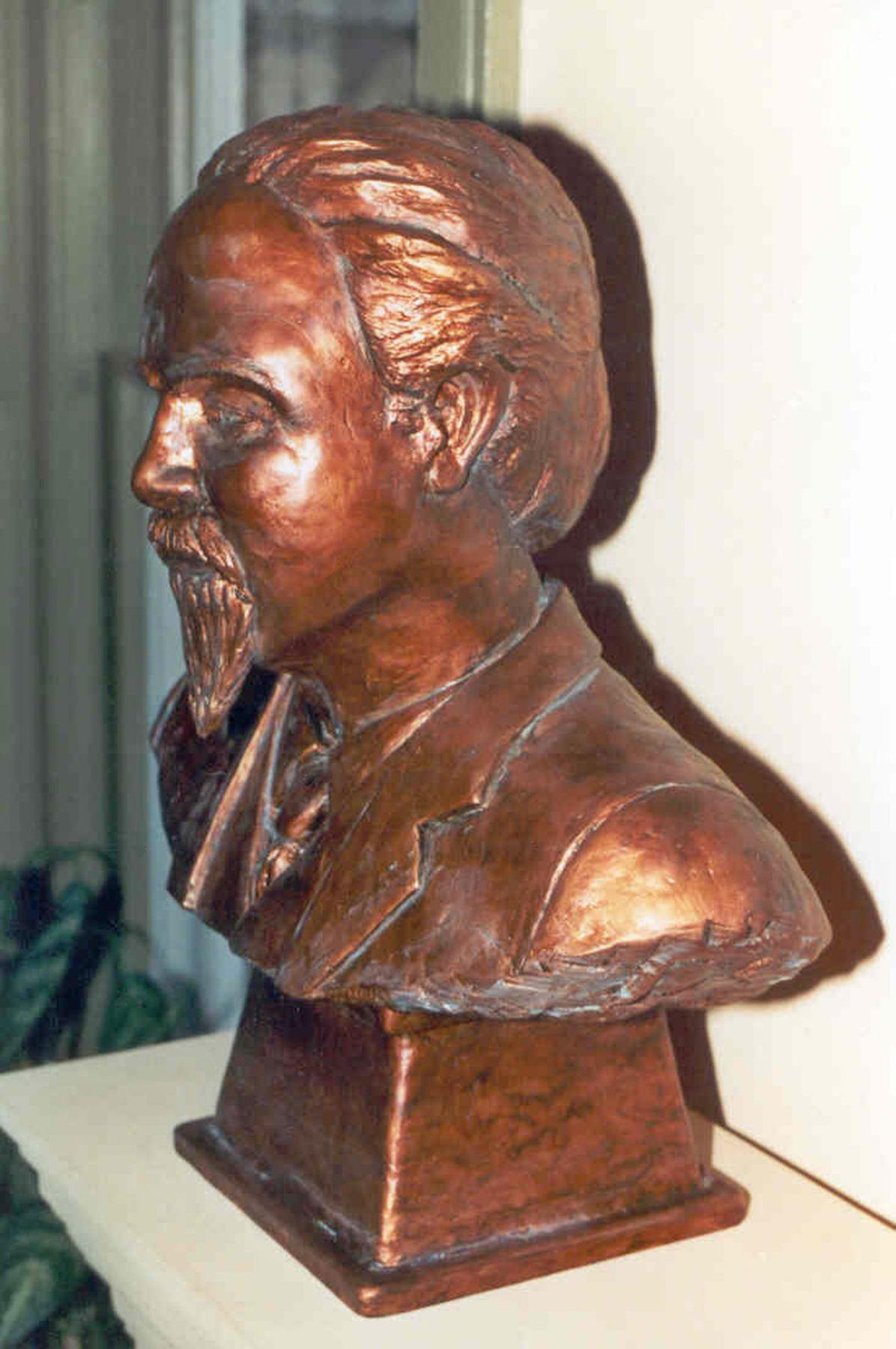 William MacCorkle bust 3