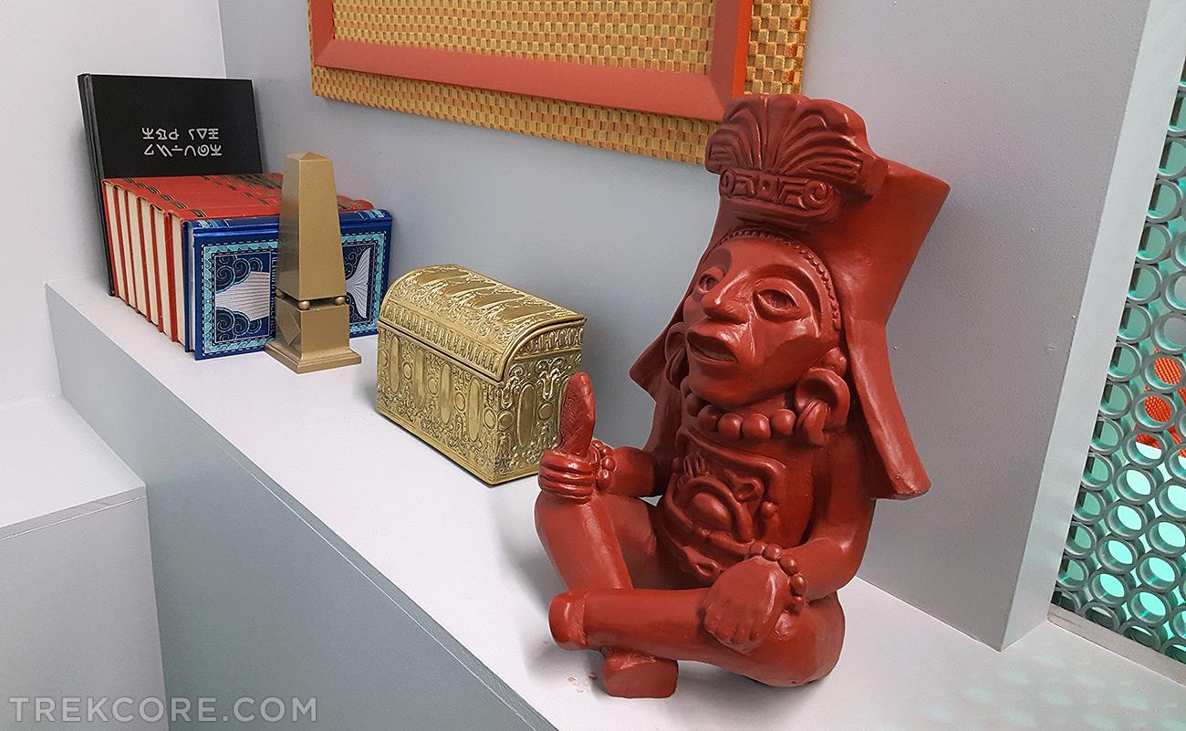 Mayan Corn God statue