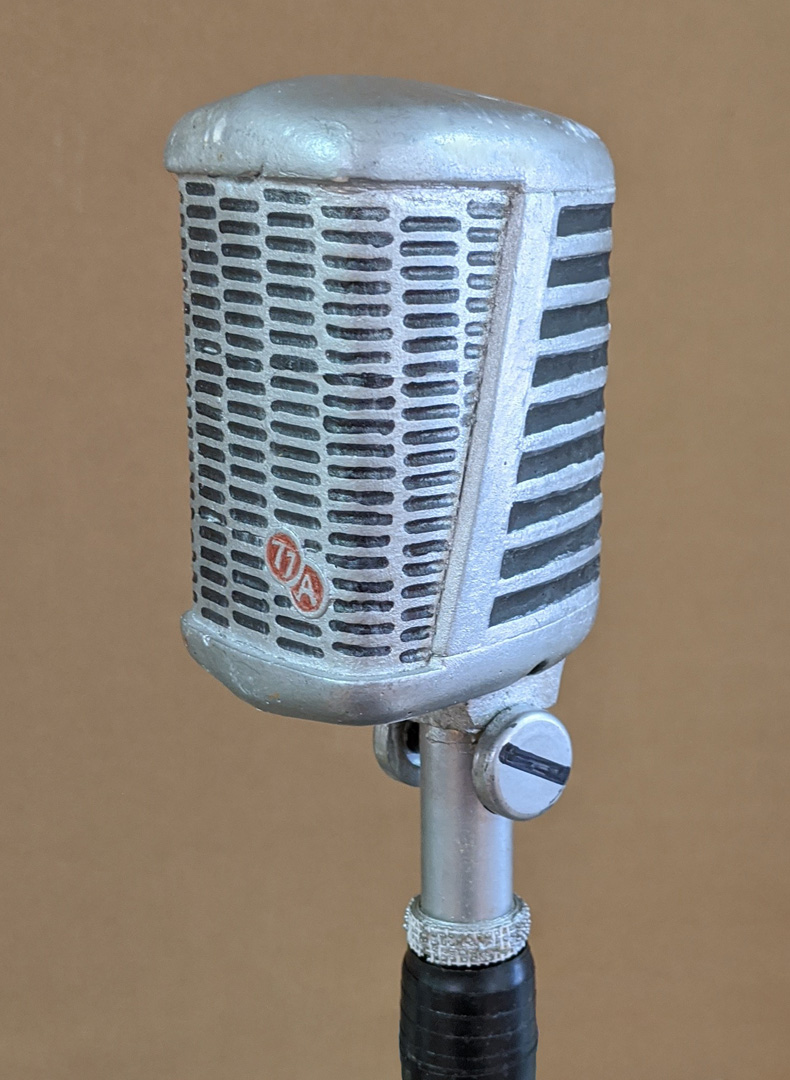 Microphone theatrical prop