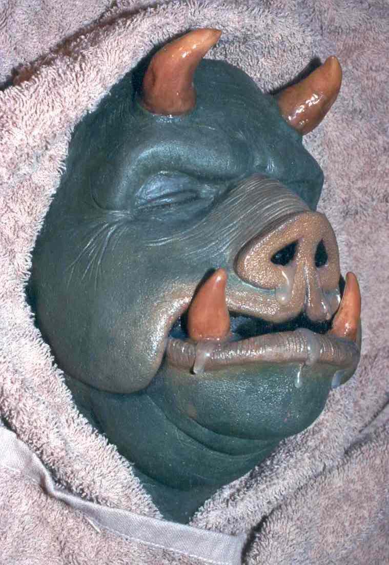 Gamorrean Guard foam latex face mask