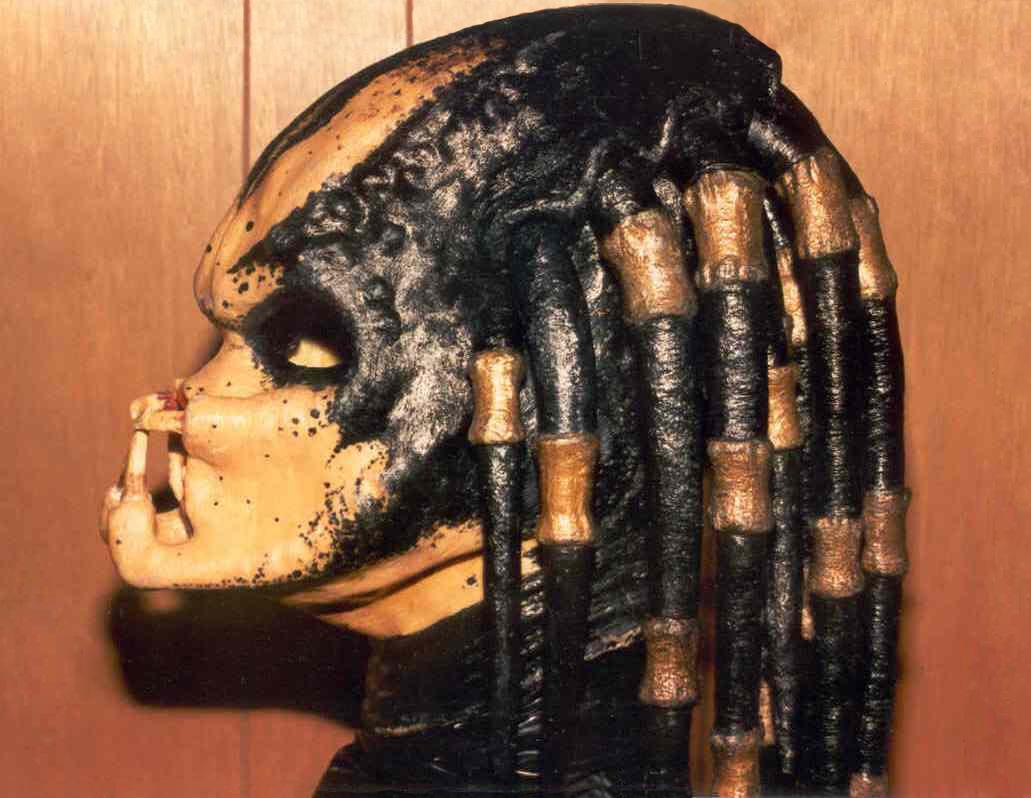 My PREDATOR mask 2