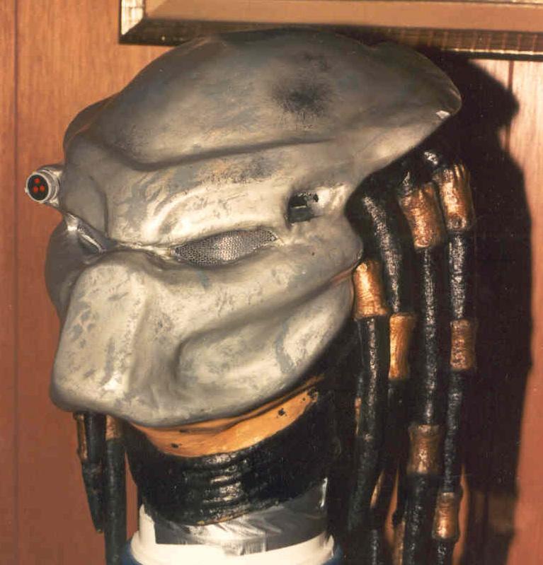 My PREDATOR mask 3