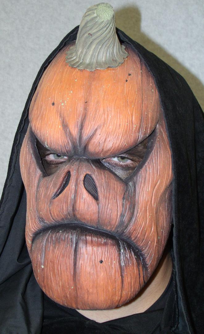 EVIL PUMPKIN mask 1