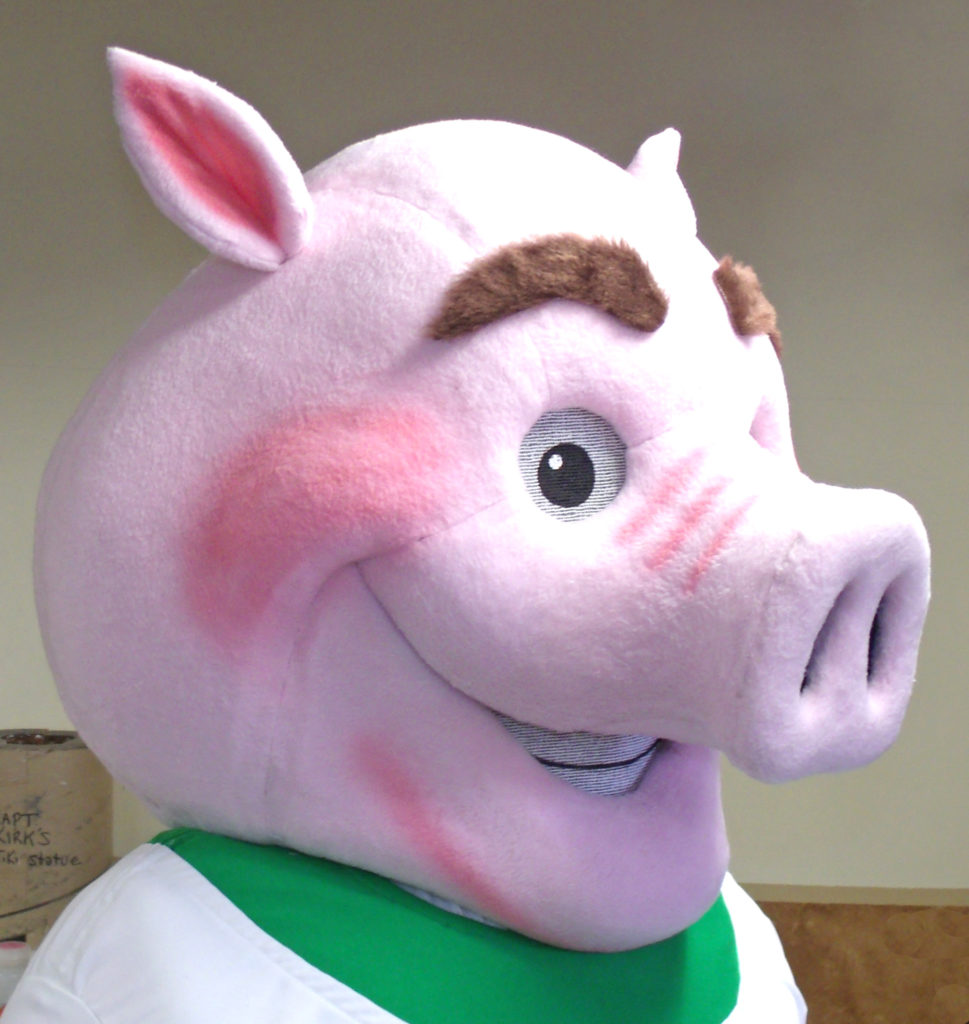 Rooty the Pig