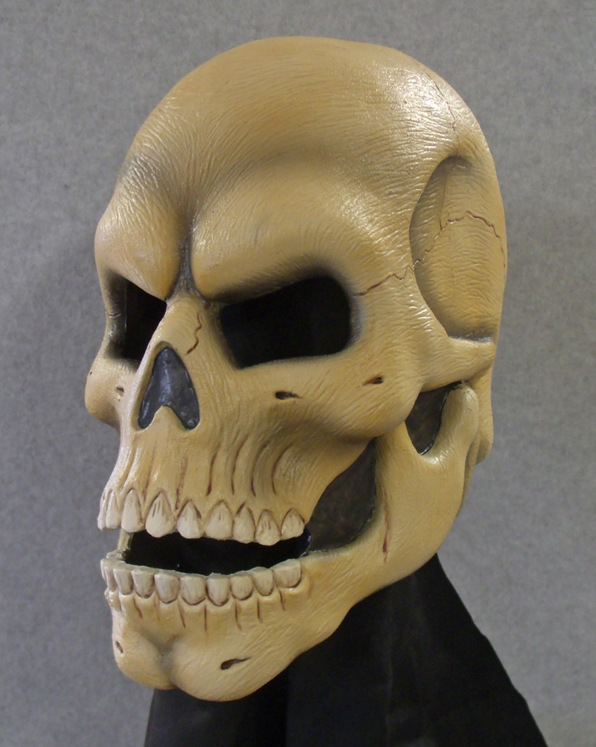 Skull latex mask 2