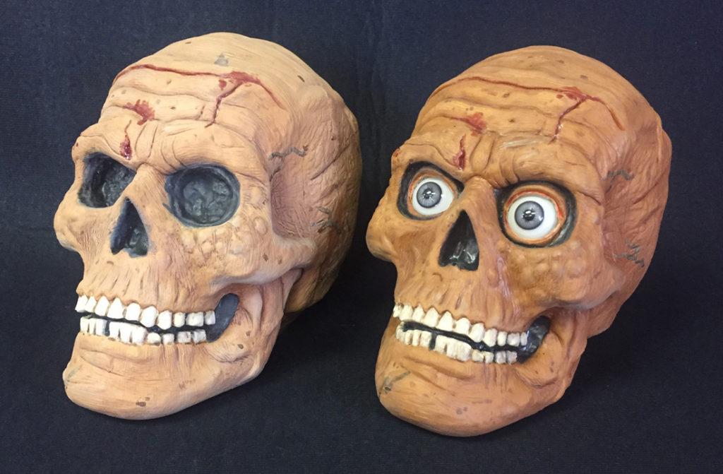 Rotting Skull Props