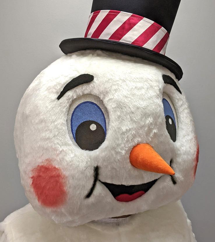 Snowman Off-the-Shelf Mascot Costumes Gallery