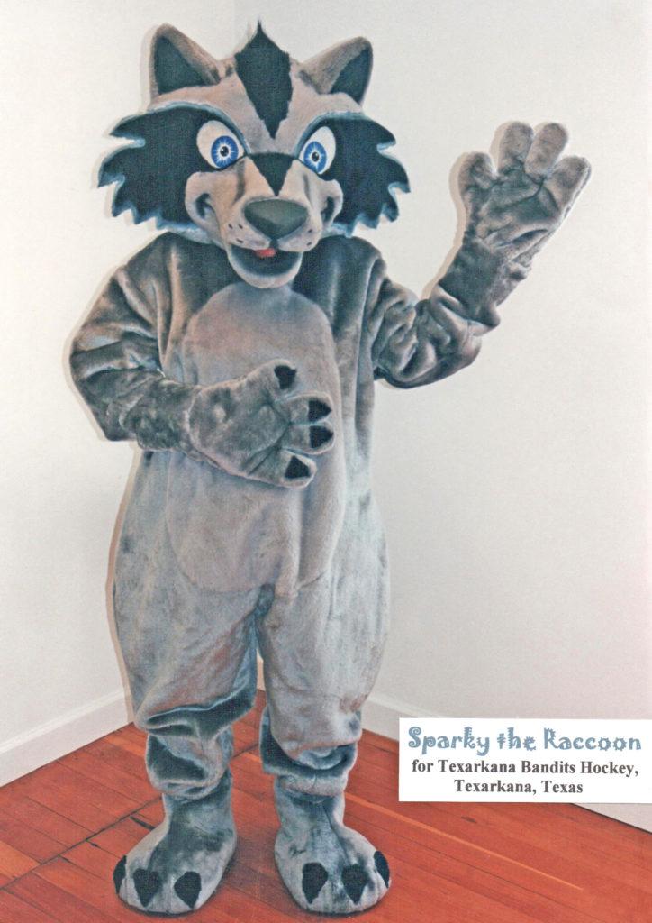 Sparky the Raccoon