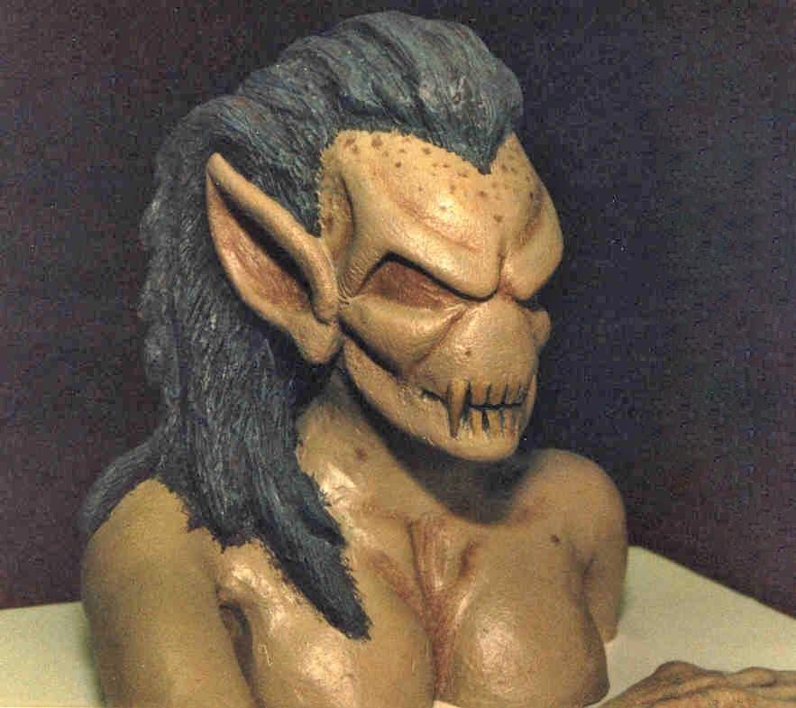 Female Vampire maquette