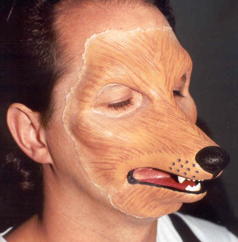 Wolf makeup 1