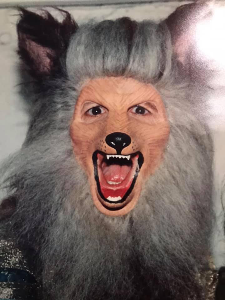 Wolf makeup 3