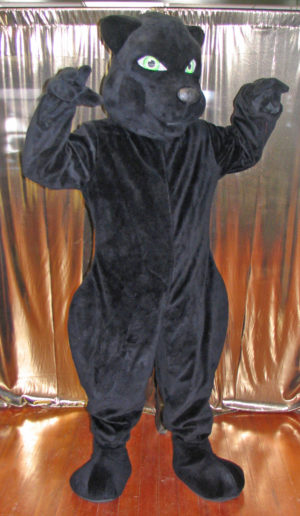 Off the Shelf Black Panther Mascot Costume