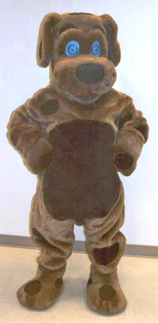Off the Shelf Brown Dog Mascot Costume