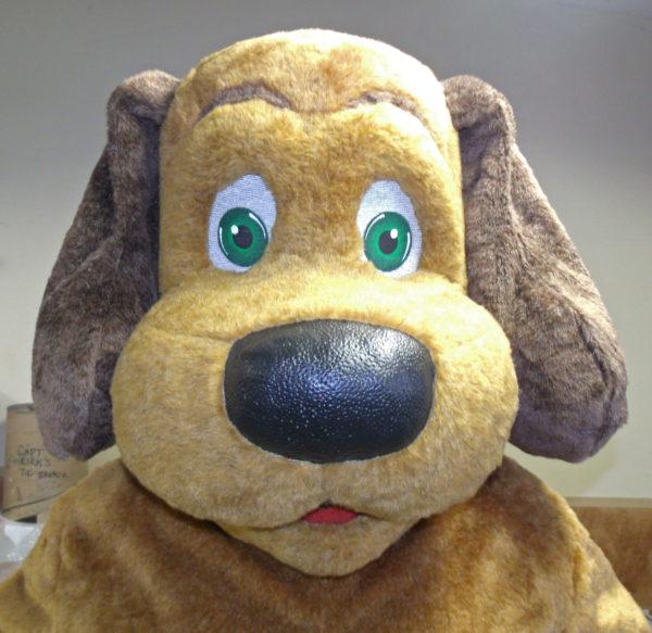 Off the Shelf Caramel Dog Mascot Costume