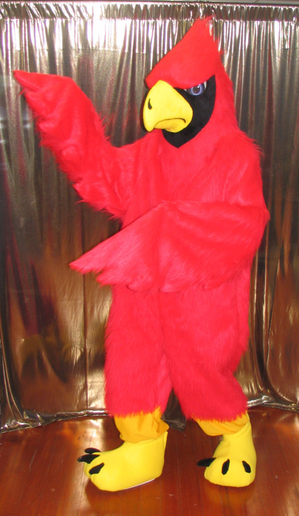 Off the Shelf Cardinal Mascot Costume