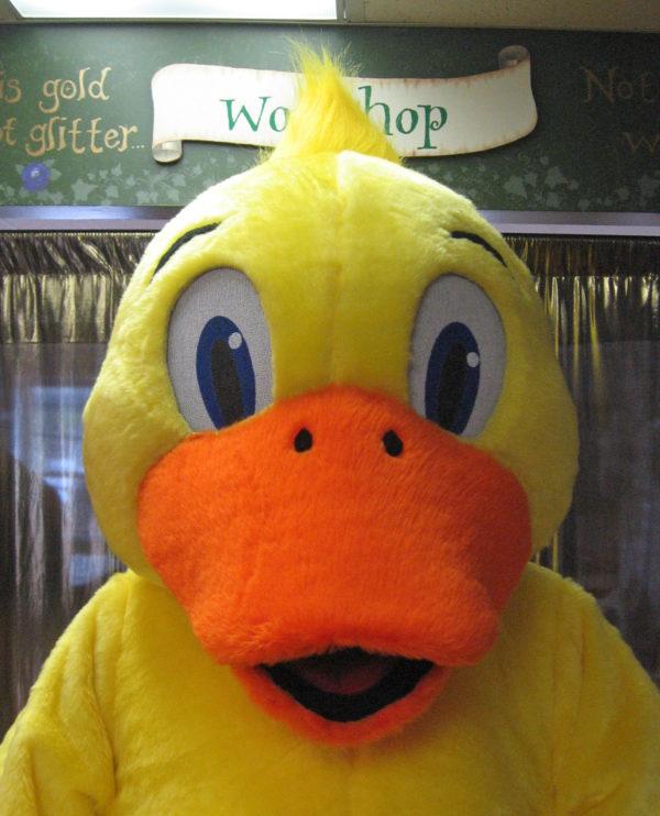 Off the Shelf Duck Mascot Costume