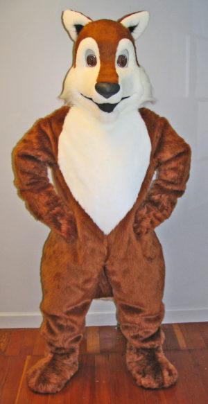 Off the Shelf Fox Mascot Costume