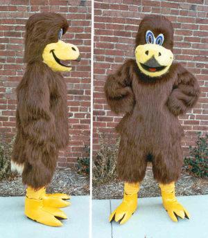Off the Shelf Hawk Mascot Costume