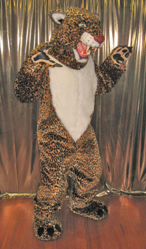 Off the Shelf Leopard Mascot Costume