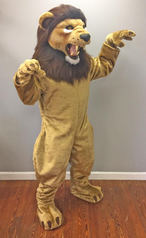 Off the Shelf Lion Mascot Costume