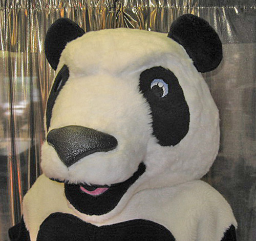 Off the Shelf Panda Mascot Costume