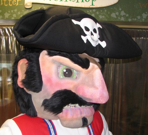 Off the Shelf Pirate Mascot Costume