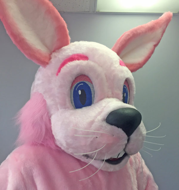 Off the Shelf Bunny Mascot Costume