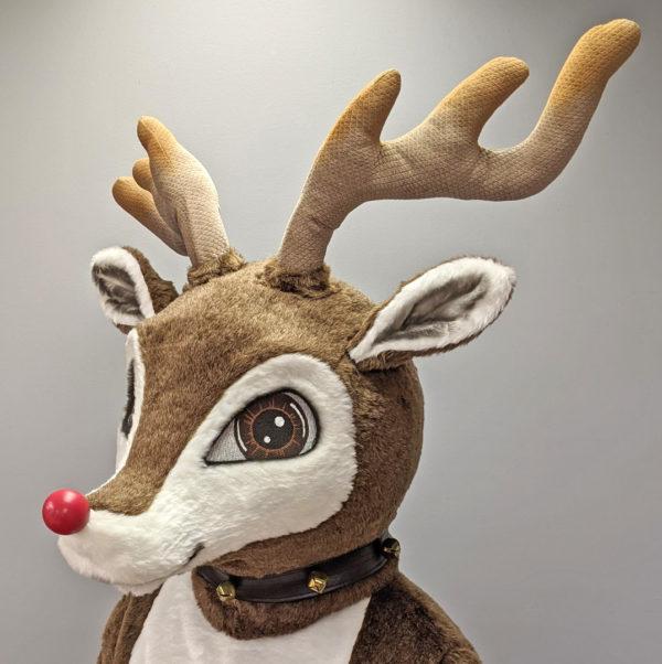 Off the Shelf Reindeer Mascot Costume