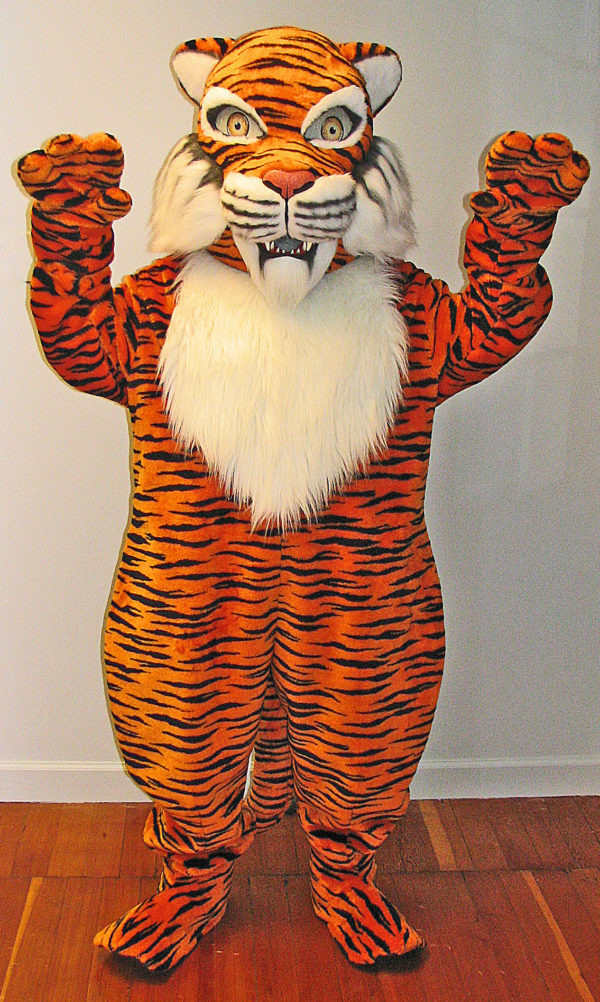 Off the Shelf Tiger Mascot Costume