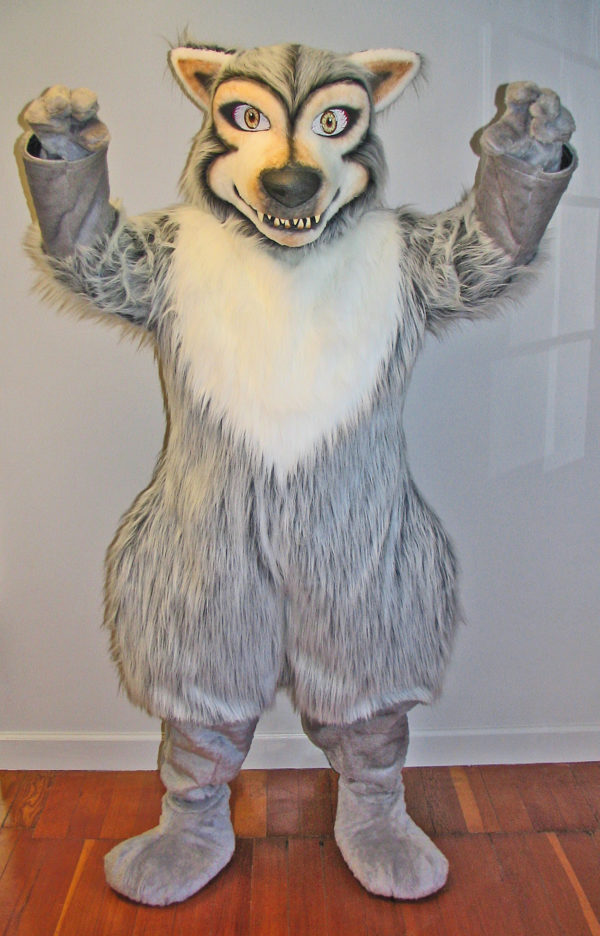 Off the Shelf Wolf Mascot Costume